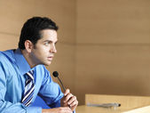 Businessman in conference room — Stock Photo