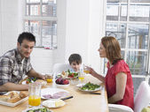 Family Having Lunch — Stock Photo