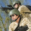 Two soldiers on patrol — Stock Photo #33840565