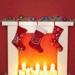 medias de Navidad — Foto de Stock