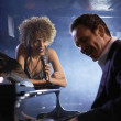 Jazz Singer and Pianist — Stock Photo