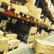 Packages in warehouse — Stock Photo #33842239