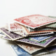 Pile of Postage Stamps — Stock Photo #33842453