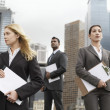 Business people standing — Stock Photo #33847205