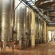 Steel Wine Vats in a Row — Stock Photo #33848803