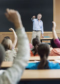 Teacher in Class — Stock Photo