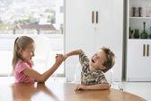 Kids Goofing Around — Stock Photo