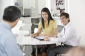 Businesspeople Working Together — Stock Photo