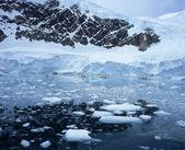 Sea Kayaking in Pack Ice — Stock Photo