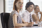 Businesspeople at business meeting — Stock Photo