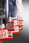 Clothing on Sale — Stock Photo