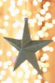 Kerstdekoratie ster — Stockfoto