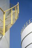 Stairway on outdoor Storage Tank — Foto de Stock