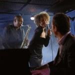 Jazz Musicians Performing — Stock Photo #33852523