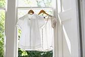 Blouses on Hangers — Stock Photo