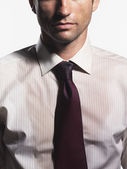 Sweaty Young Businessman — Stock Photo