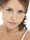Young Brunette Woman p — Stock Photo