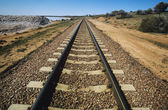 Railroad track — Foto de Stock