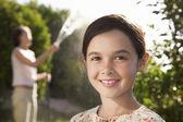 Girl smiling — Stock Photo