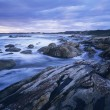 Stock Photo: AustraliRocky coast