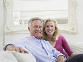 Successful mature couple — Stock Photo