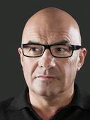 Man Wearing Eyeglasses posing — Stock Photo