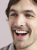 Man Laughing — Stock Photo