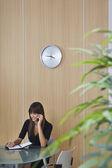 Businesswoman Phoning — Stock Photo