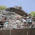 Family on Footbridge — Stock Photo #33871029