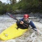Kayaker in Rapids — Stock Photo #33876885