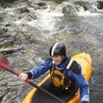 Kayaker on River — Stock Photo #33876935