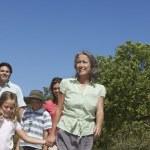 Family walking — Stock Photo #33877215