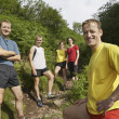 Joggers on Trail — Stock Photo #33878871