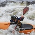 Kayaker in Rapids — Stock Photo #33879117