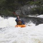 Kayaker in Rapids — Stock Photo #33879287