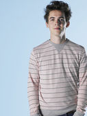 Teenage Boy posing — Stock Photo