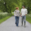 Couple Strolling — Stock Photo #33880139