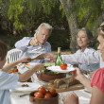 Family  having dinner — Stock Photo #33881001