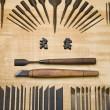 Japanese Woodworking Tools — Stock Photo #33884175