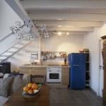 Ground floor of studio apartment — Stock Photo