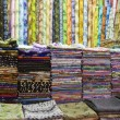 Colorful fabrics for sale — Stock Photo #33887073