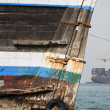 Stock Photo: Old wooden dhow