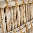 Stock Photo: Thatch display at Heritage Village