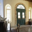Hall of antique Mediterranean town house — Stock Photo #33888525