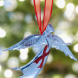 Angel Christmas decoration — Stock Photo