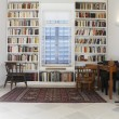 Library of restored town house — Stock Photo #33889537