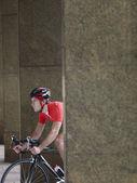 Bicycle Racer — Stock Photo