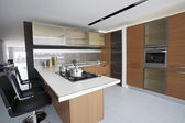 Kitchen in store — 图库照片
