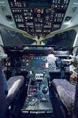 Kokpit samolotu pusty — Zdjęcie stockowe