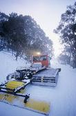 Schneeräumung traktor — Stockfoto